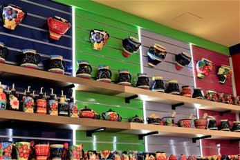 tienda de recuerdos granada